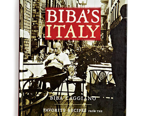 Biba's Italy: Favorite Recipes from the Splendid Cities  By Biba Caggiano, Artisan, 2006. Hardcover. $30; 320 pagesThis restrained book, a series of love letters to Italian cities in recipe form, is compact (just over 100 recipes), clear (recipes have simply translated names like Tuscan Farro Soup), and elegant (retro typography, duotone photos).Recipes run from simple peasant fare to more elaborate preparations, and all feel authentically of the place. Overall this book feels pleasantly contemplative: a volume you'd like to peruse while sipping wine under an olive tree in the Tuscan hills, perhaps, or at least while dreaming of that on your couch.GIVE THIS TO: Italophiles and bibliophiles. —Tiffany Vickers Davis