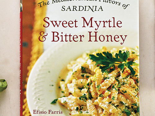 Sweet Myrtle & Bitter Honey: The Mediterranean Flavors of Sardinia  By Efisio Farris, Rizzoli, 2007. Hardcover. $40; 272 pagesSardinia is one of the last frontiers for Italian cooking in America. Bottarga, the island's dried, briny mullet roe, has popped up on high-end cheffy pastas in recent years, but the long, rich history of Sardinian cuisine remains foreign to American palates. Let this book be your delicious introduction.Be sure to check out the Sardinian translations of the recipe titles—a nice touch.GIVE THIS TO: Cooks who want to push the boundaries of Italian flavors. —Tim Cebula