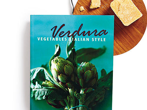 Verdura: Vegetables Italian Style By Viana La Place, Grub Street, 1991. Paperback. $25; 320 pagesA book well before its time, Verdura proposed 21 years ago the amazing idea that vegetables should become the center of the meal. It still offers inspiring takes on all things fresh. Vegetables are given the antipasti treatment, as well as turns in salads, soups, pastas, pizzas, frittatas, and more (including fruit-based desserts).GIVE THIS TO: Produce lovers, market-goers. —Tiffany Vickers Davis
