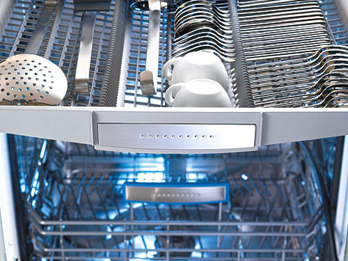Josephine Cochran invented the dishwasher in 1886, and for a century, the machines gushed and clanged like something from the steam age: not exactly suited to today's open-concept home design. Now, they whisper. European brands began their silent assault on the U.S. market in the late 1980s, and low noisemaking was a key selling strategy. Because these models use less water, there's less sloshing. They use less energy, too—two small motors wash and drain simultaneously instead of one larger, louder motor performing each task separately. Also, there's no noisy disposal to grind food particles and no electric heating element (drying occurs through condensation on the insulated stainless interior panels). Bosch reached a new low with the 39-decibel 800-series dishwasher earlier this year. The hum of your fridge is probably louder.