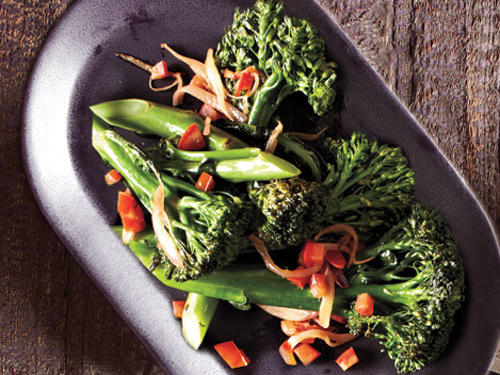Sautéed Broccolini with Tomatoes