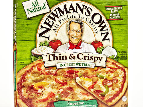 If pizza is your choice for movie night, the frozen aisle has lots of healthier options. And they're easy to jazz up with extra toppings. Newman's Own Thin & Crispy Supreme Pizza surprisingly fits the bill with 1/3 of a pizza with only 320 calories. Find Healthy Frozen Pizzas that are low-cal and yummy.