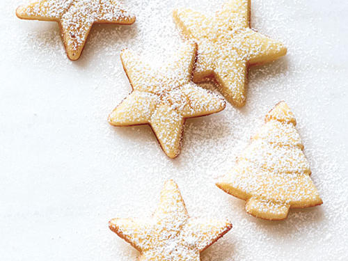Merry Christmas! When baked in holiday shapes, these cookie-cake hybrids become more fun. They are good to have in the mix because decorating is simpler: Just dust with powdered sugar. Make and chill the batter up to a day ahead.View Recipe: Madeleines