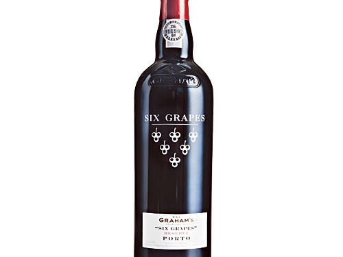 W&J Graham's, Six Grapes Reserve Port NV, Portugal ($25)For nearly 300 years, Graham's has produced terrific tawnies, with Six Grapes representing one of their original port styles. This sweet, high-octane wine is the perfect partner for pecan pie or fudgy cake but also terrific on its own. Enjoy it like dessert in a glass, and it's sure to warm you up.