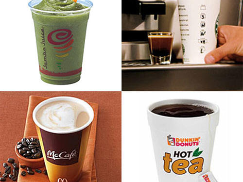 When it comes to hidden fat and calories, your drink may be delivering more than you bargained for. In fact, sipping just one extra can of soda a day can add up to nearly 15 new and unwanted pounds in a year. But that liquid refreshment doesn't need to add to your bottom line. We reveal the healthiest – and most waistline-friendly – drinks to grab on the go.