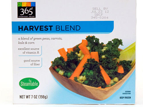 No time to shop for fresh veggies? No problem. Whole Foods elevates frozen produce to a whole new level with its genius blend of green peas, carrots, corn, and kale. Made from 100% vegetables and packed in a steamable microwave bag, these good-for-you veggies are so tender you'd swear they came straight from the produce aisle. And with 3 grams of fiber, 240 milligrams of blood-pressure balancing potassium, and only 30 milligrams of sodium per cup, they're heart-smart too.