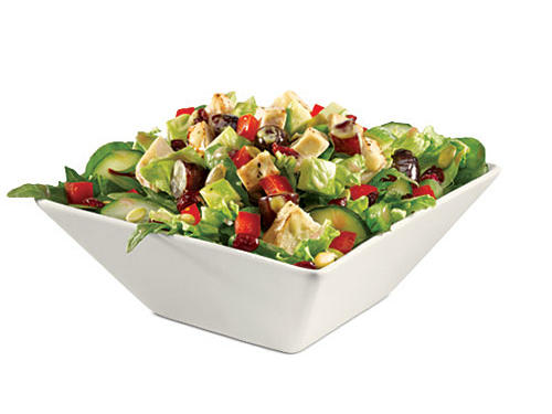 Quizno's Salad Nutrition