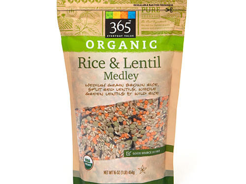 1301 Whole Foods 365 Organic Rice & Lentil Medley