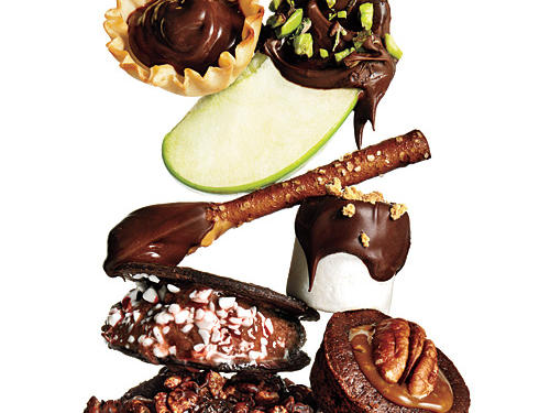 Don't walk away from chocolate... When flavor is this good, portions can be small and still satisfy.
