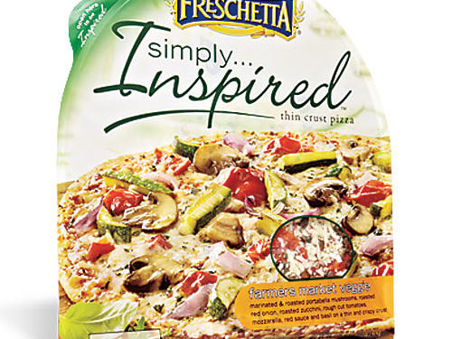 Freschetta Simply Inspired Thin-Crust Farmers Market Veggie