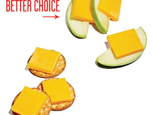 Instead of Crackers, Reach for Fresh Apple Slices
