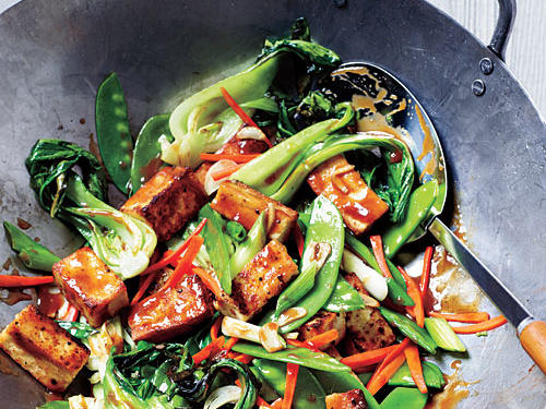 Veggie and Tofu Stir-Fry