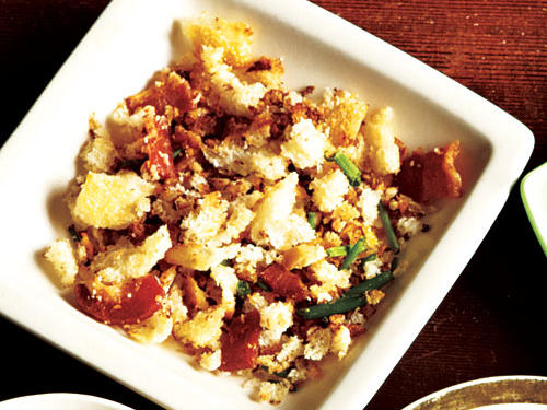 Bacon and Chive Breadcrumbs