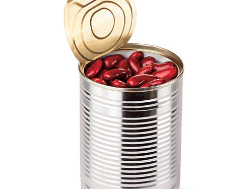 Can you rinse the salt off canned beans?
