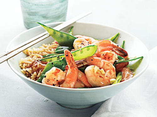 To make this recipe a sustainable choice, buy Pacific white shrimp farmed in fully recirculating systems or inland ponds. For a milder dish, use only 1 teaspoon black pepper.