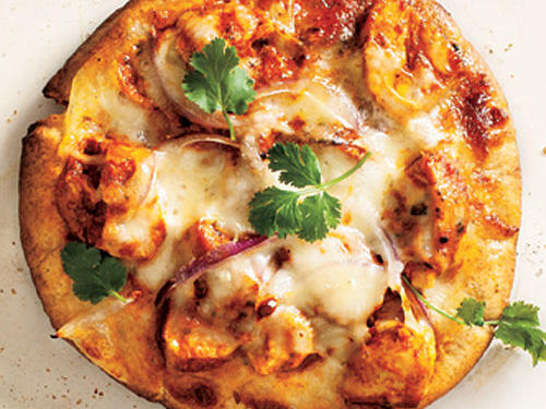 View Menu: Chicken Tikka Pizzas Menu