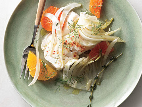 Cod with Fennel and Orange