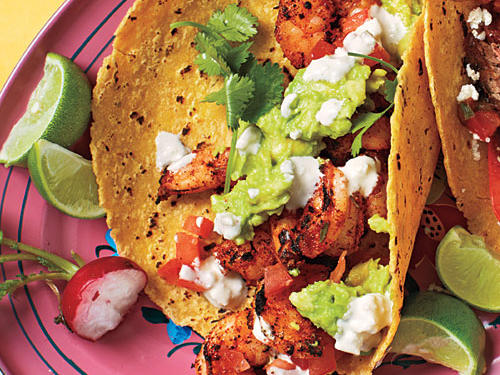 Blackened Shrimp Tacos recipe