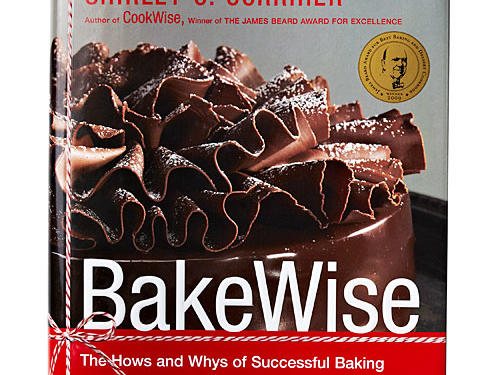 "Bakewise: The Hows and Whys of Successful Baking By Shirley Corriher, Scribner, 2008. Hardcover. $40; 532 pagesAt first, we admit we were skeptical of Corriher's legendary ""Touch-of-Grace"" Southern Biscuits. She uses self-rising flour, which feels like a cheat. She describes the dough as ""a wet mess—not soup, but cottage-cheese texture."" But these are the secrets to the lightest, fluffiest biscuits you may ever taste. In fact, a few of us on staff witnessed Corriher at a food conference a few years ago, scooping up that wet, sticky, shapeless dough and baking biscuits for hundreds of folks in the middle of an expo. And though prepared under less than ideal circumstances in a makeshift kitchen, they were shockingly, consistently perfect.Baking is all science, and in Corriher's hands, we can all become junior scientists and darn fine bakers. The book is organized by category of baked goods: breads, cakes, pies, and the like, with tons of valuable explanations about the best ingredients for and ways to approach making each. Lest you feel intimidated by heavy sciencespeak, don't worry. This is baking advice for the everyday cook, not just science geeks or professional bakers. Corriher precedes every recipe with a ""What This Recipe Shows"" box so the budding baker understands why and how the recipes work (in the case of those biscuits, ""A very wet dough makes more steam in a hot oven and creates lighter biscuits""). It's all trustworthy advice with a takeaway more than just recipes—this book truly teaches the fundamentals of baking science so that your piecrusts will be flakier, your muffins more moist, your biscuits absolutely ethereal. GIVE THIS TO: Any cook interested in baking, from novice to pro. —Julianna Grimes"