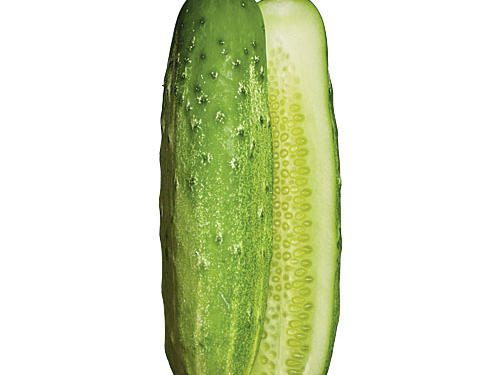 The quintessential cuke. The variety is foolproof for novice gardeners; true to their name, they grow straight. Classic dill pickle material.