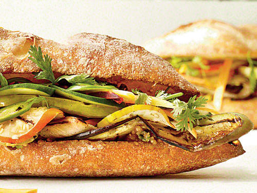 Sandwich night doesn't have to be boring anymore. Mix things up with this veggie-filled, Vietnamese-inspired creation.
