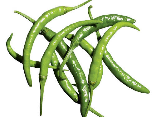 Korean Dark Green Peppers