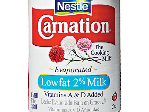 Tip #1: Evaporated Low-Fat Milk