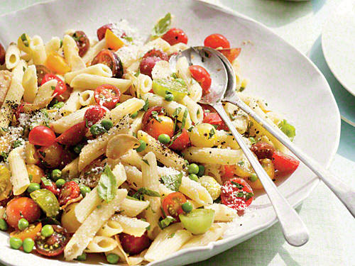 An ideal dish for warm-weather entertaining or to serve to company, this pasta dish is full of only the freshest flavors of summer.