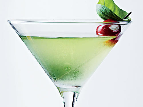 Use neutral vodka for more basil flavor.