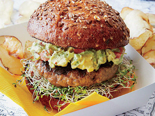 California Recipe: SoCal Guacamole Burger