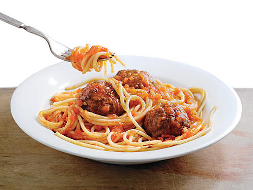 We love 'em with noodles, we love 'em in soups, we love 'em on skewers, too. We're taking the meatball to more delicious (and lighter!)  places than we ever have before.