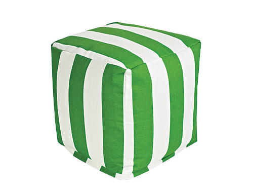 Outdoor-safe seating, available in dozens of colors and patterns ($104, outdoorpillowsonly.com)