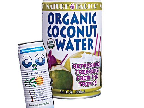 "GRAND PRIZE WINNER: Nature FactorLighter and fresher than its competitors and void of fake coco-flavorings or vanilla ""masks,"" this coconut water is sublimely replenishing. There's a mild coconut backnote that lends a more natural flavor, like ""real"" coconut water.TASTE TEST AWARD: C2O PureFor those who like their coconut water on the sweeter side, this beverage is very much the milky essence of pure coconut. Try it as a mixer in a cocktail or a smoothie."