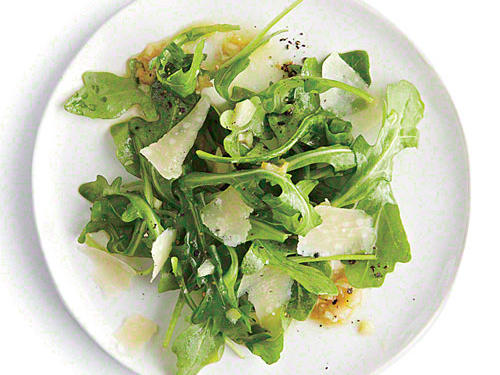 Fresh parmesan makes this simple salad really shine.