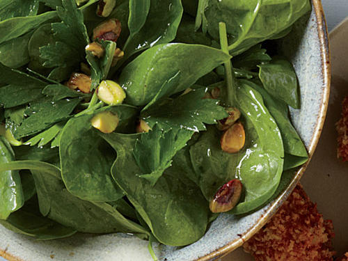 This powerhouse vegetable boasts a long list of nutrients, including sleep-promoting tryptophan. Spinach is also high in vitamin B6, which plays double-duty to help tryptophan work its magic. Incorporate fresh spinach at dinner in salads, whole-grain dishes, sautéed and served alongside a protein, or blended into a smoothie.
