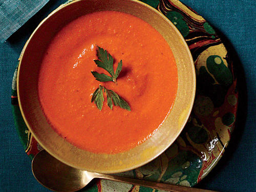Smoky Bell Pepper Soup
