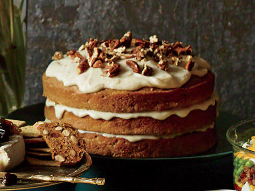 We challenged ourselves to come up with a showstopping dessert that uses boxed cake mix as a starting point--and we succeeded. Fresh carrot and apple plus a splash of bourbon boost the flavor of the layers, while the browned-butter glaze is, well, the wildly delicious icing on the cake.