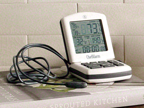 ChefAlarm Timer and Thermometer