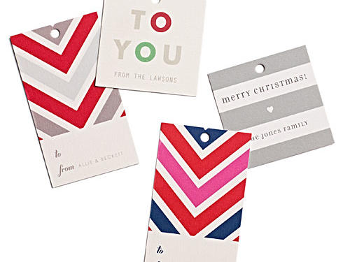 Minted Holiday Gift Tags
