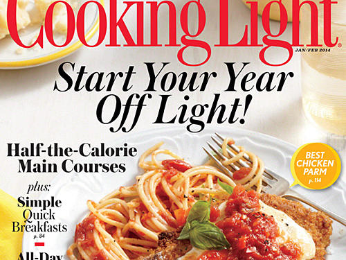 Cooking Light January/February 2014 Cover