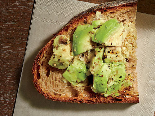 A smashed avocado on a piece of whole-wheat toast is a great snack before a run or workout. With the perfect combination of healthy fats and carbohydrates, this snack will keep your body energized without weighing you down.