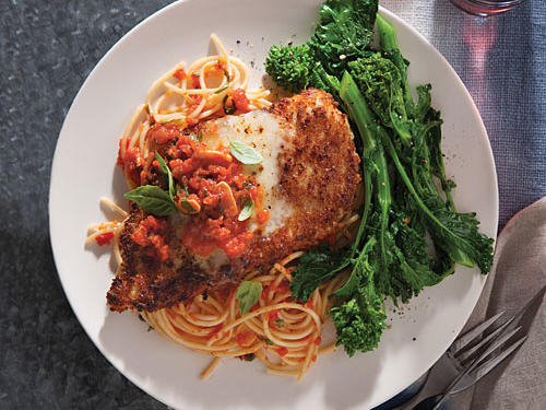 Lighter Chicken Parm