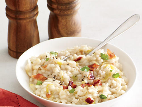 Bacon and Leek Risotto