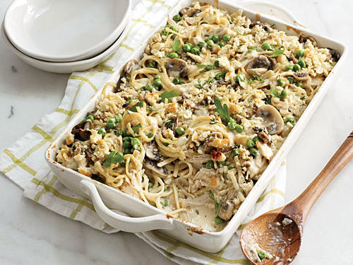 Recipe Makeover: Healthier Chicken Tetrazzini