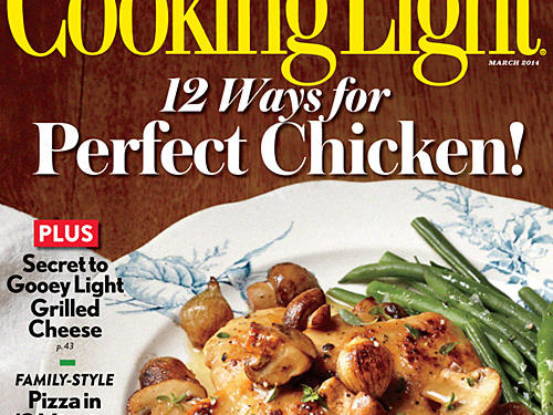 Cooking Light March 2014 Cover