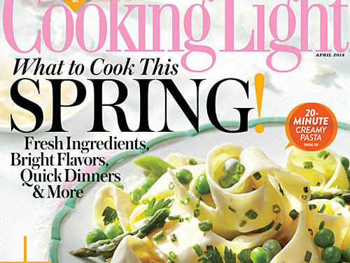 Cooking Light April 2014 Cover
