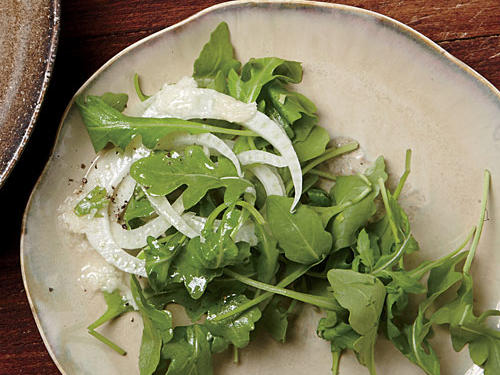 Arugula Salad with Parmesan Vinaigrette