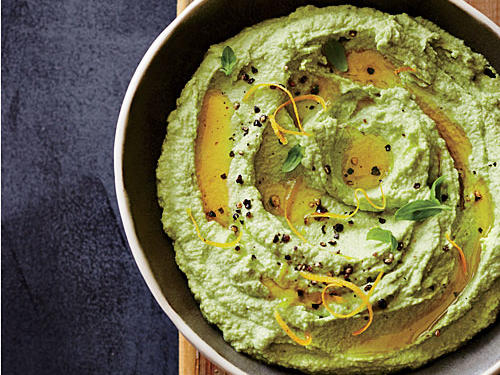 1404 Low-Cal Spread: Nutty Edamame Spread