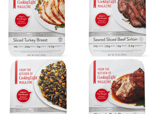 Cooking Light Ready-Made Products: Now Available at Super Target