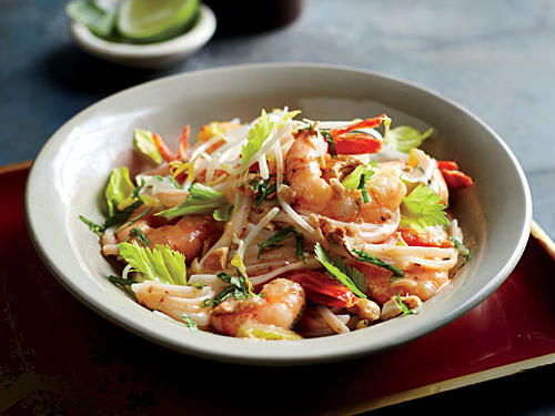 Add this Thai Shrimp Curry to your weekly rotation for a quick and tasty Asian dish the whole family will love. For a vegetarian version, swap in cubes of drained, pressed tofu for shrimp, and soy sauce in place of fish sauce.